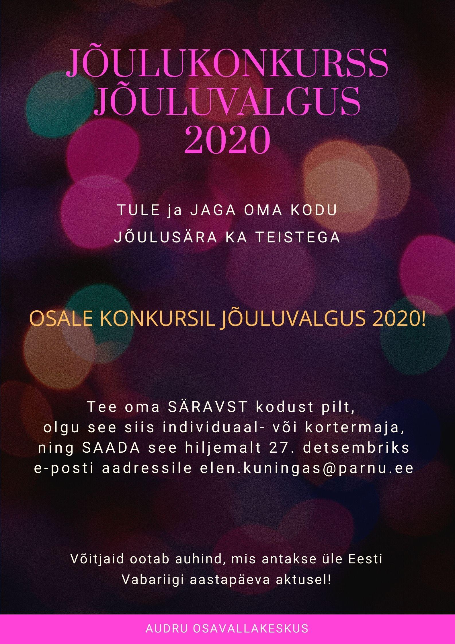 AudruOV konkurss j6uluvalgus2020